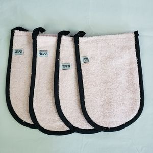 Everything Mitts, 4 pack, for cleaning, bathing